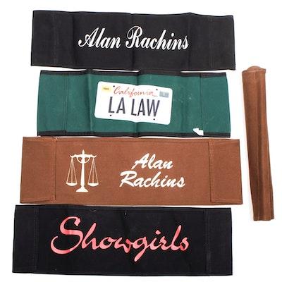 LA LAW and More Director Chair Seatbacks