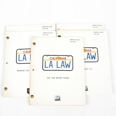 "Group of ""LA Law"" Scripts"