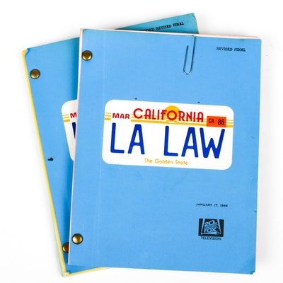 """Revised Drafts from """"LA Law"""""""