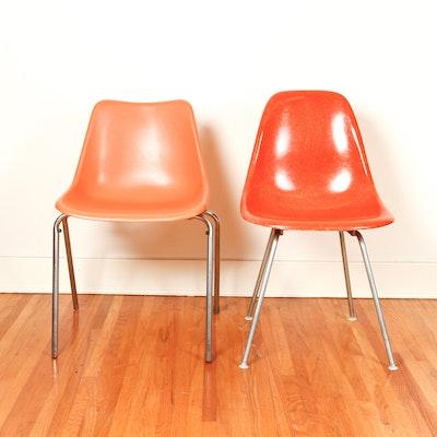 Reproduction Of A Mid Century Modern Pierre Paulin Orange
