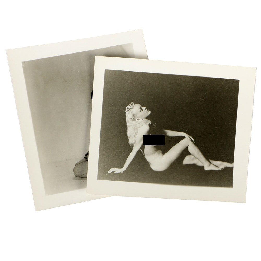 1950s Artistic Nude Photo Cards