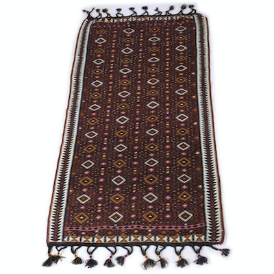 Handwoven Cotton Turkmen Kilim