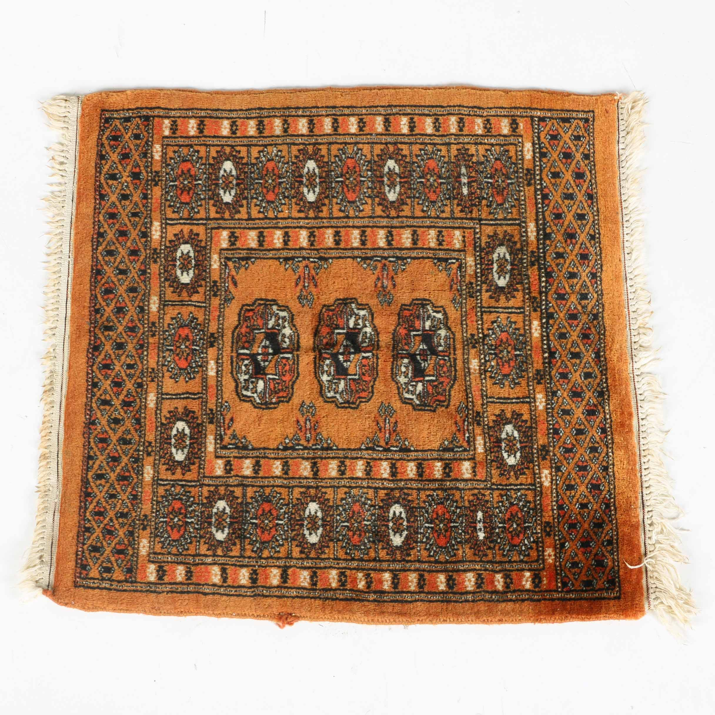 Handwoven Tekke Bokhara Style Accent Rug