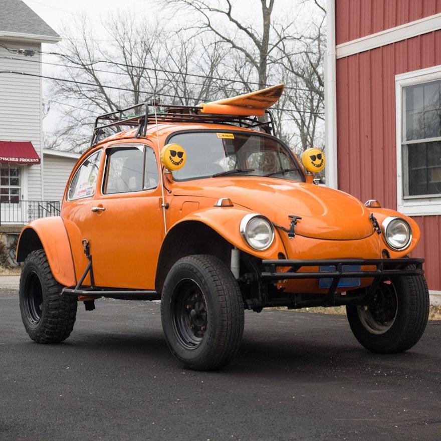 orange baja volkswagen beetle ebth