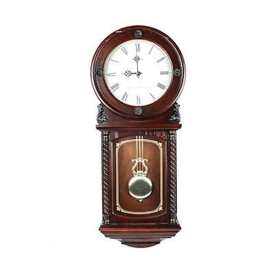 Tempus Fugit Quot Pearl Quot Grandfather Clock Ebth