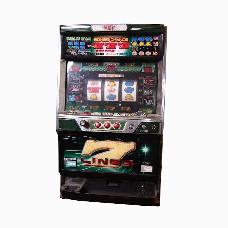 7 lines slot machine ebth