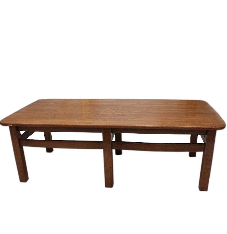 Davis cabinet solid oak jack daniel barrel collection coffee table geotapseo Images