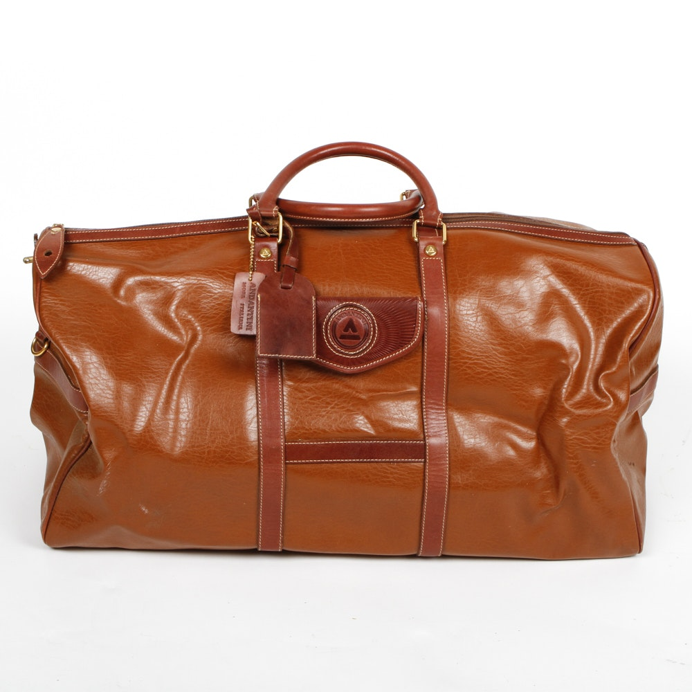 Andantini Leather Duffle Bag