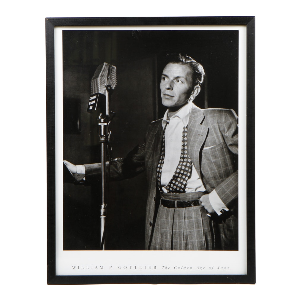 Print of an Original Photograph of Frank Sinatra