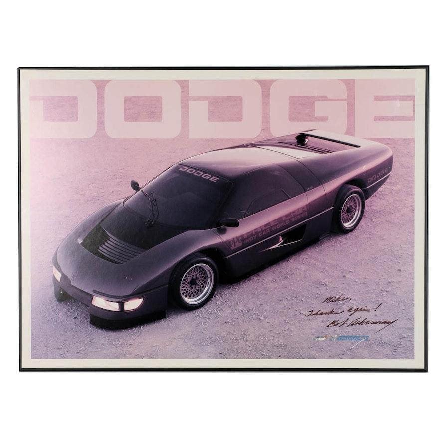 Framed Dodge \