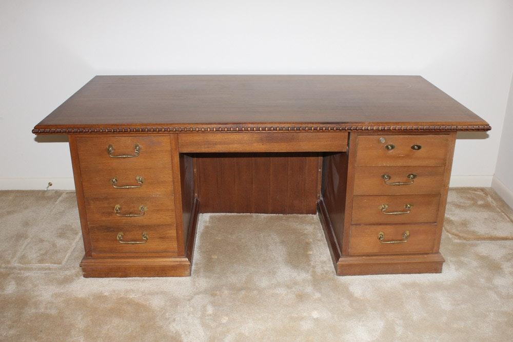 chinese mahogany desk by ricardo lynn - Mahogany Desk