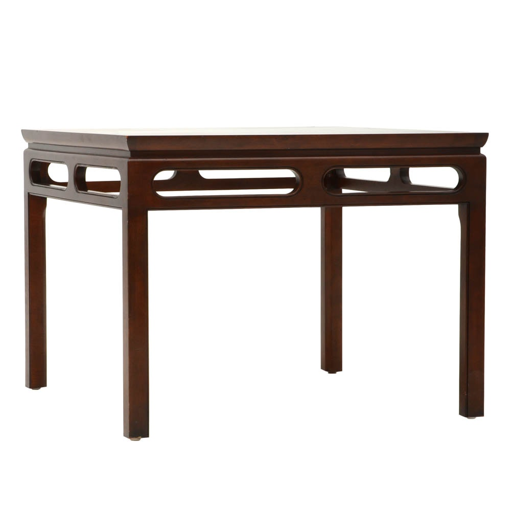 Baker Chinese Ming Style End Table ...