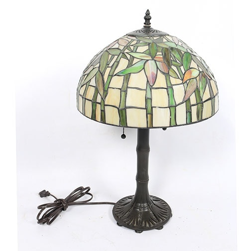 Tiffany Style Stained Glass Lamp