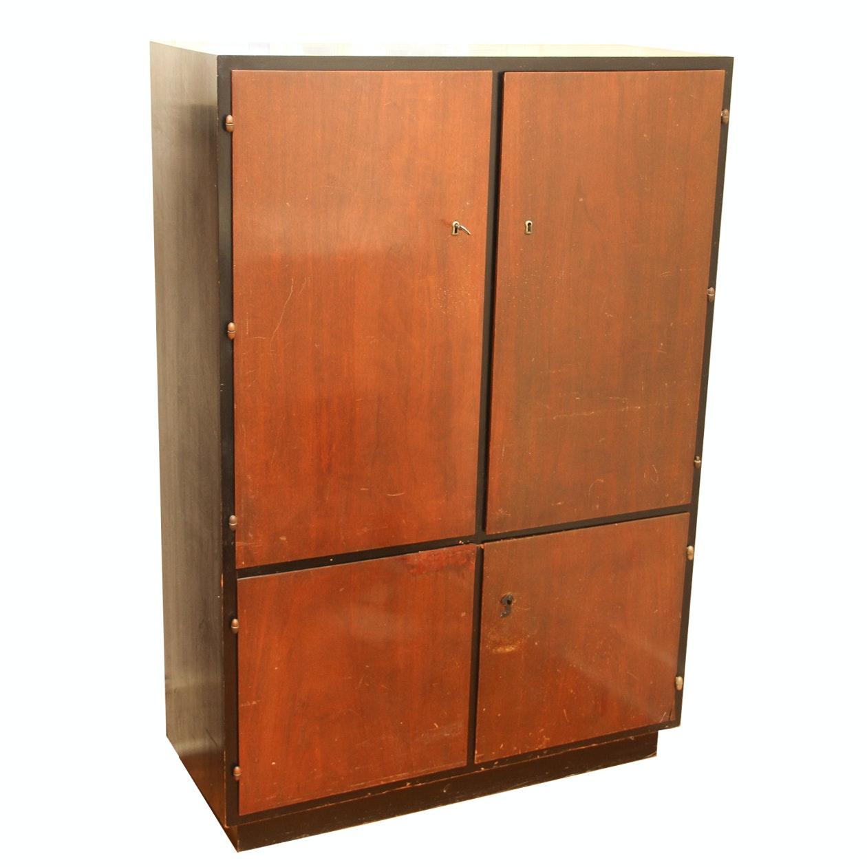 Mid Century Modern Wooden Cabinet