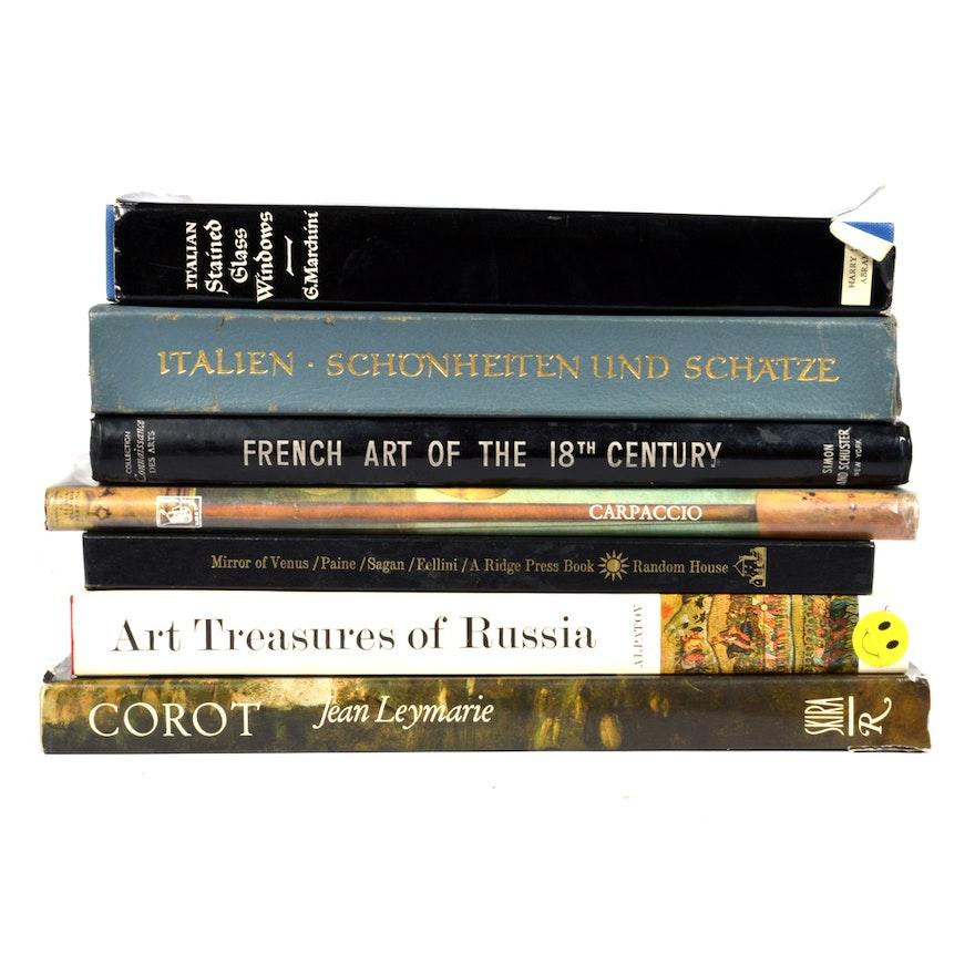 Seven Art Coffee Table Books Ebth