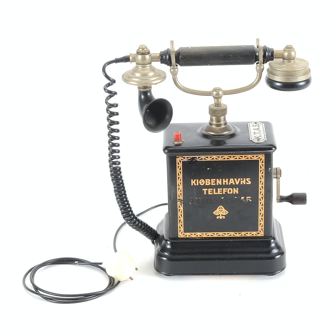 Early 20th Century Danish Telephone