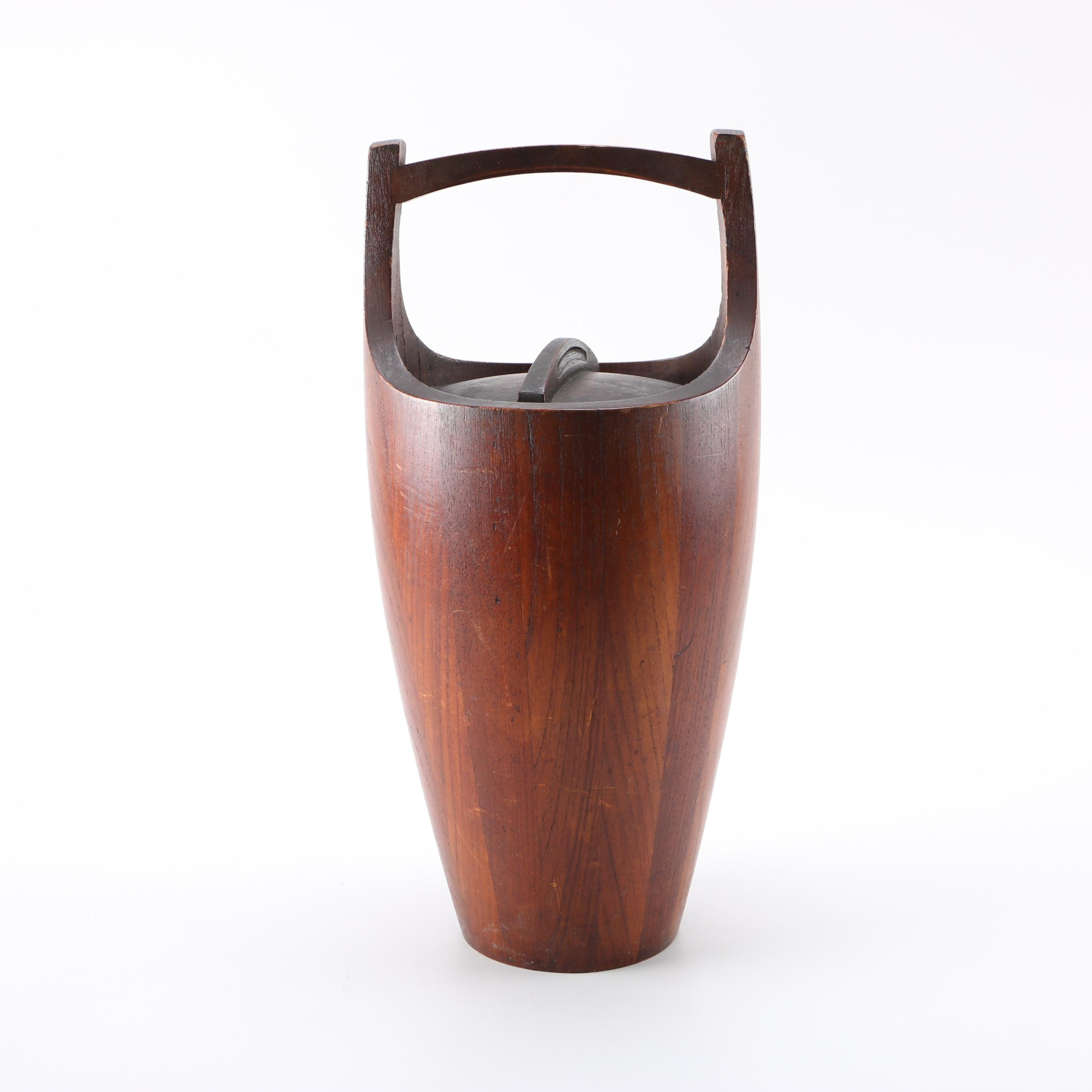 Mid Century Modern Dansk Ice Bucket by Jens Quistgaard