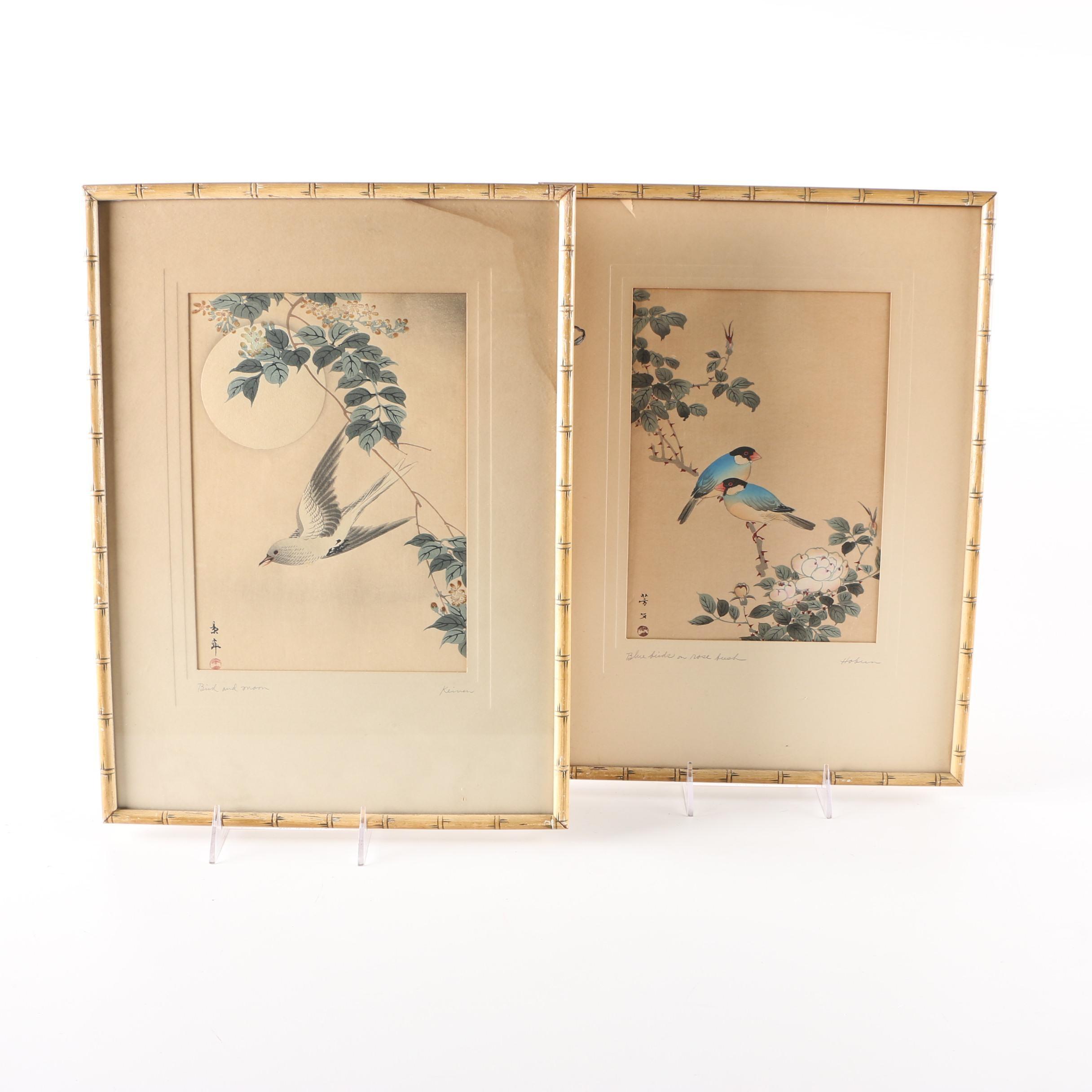 Japanese Woodblock Prints by Kikuchi Hōbun and Imao Keinen