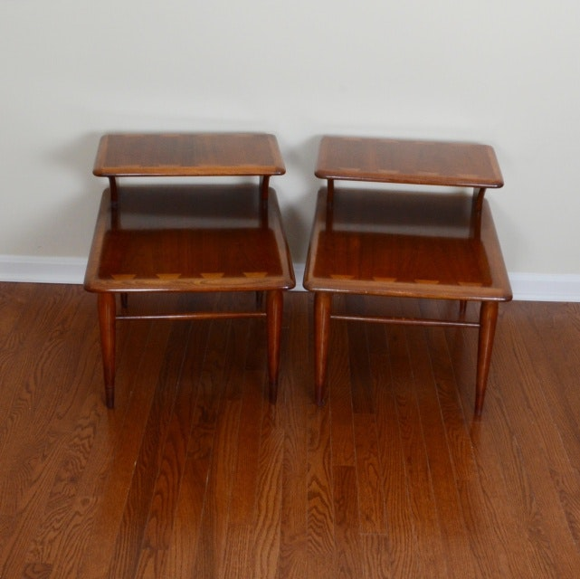 Mid Century Modern Lane End Tables ...
