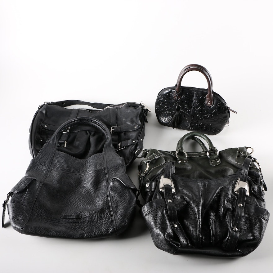 Collection of Designer Handbags Such as B. Makowsky and Tignanello   EBTH 2d25c5e07c1f2