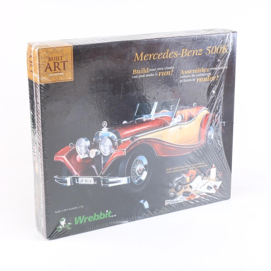 Sport Car Collections Jayde Mercedes Benz Customized: Mercedes-Benz 500K Roadster Model Car Kit By Wrebbit