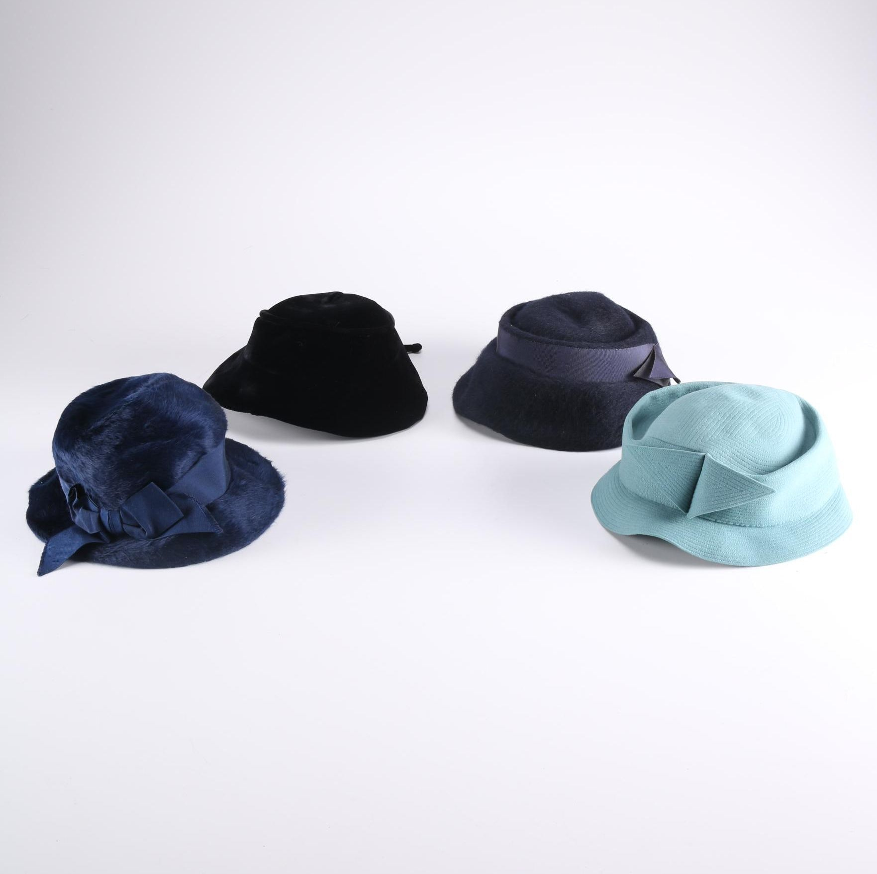 Women's Vintage Hats Featuring Cloches