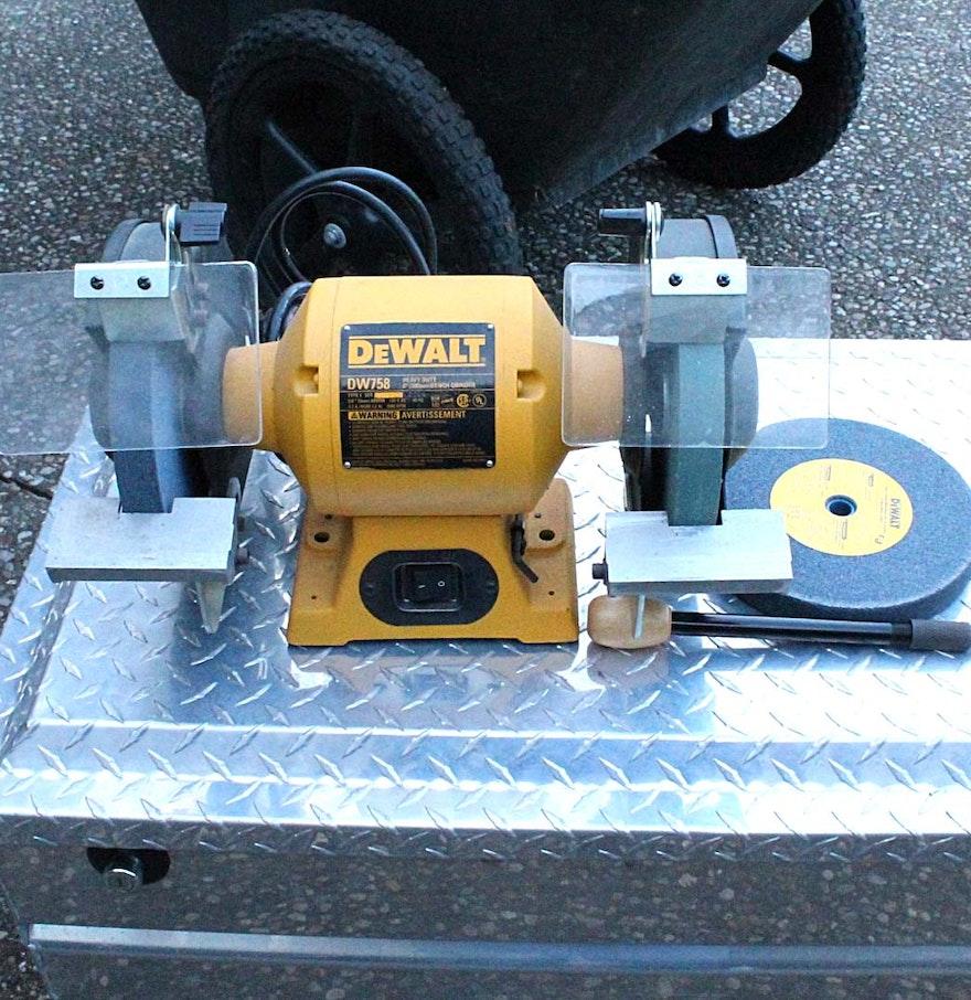 Pictures On Dewalt 8 Bench Grinder Dw758 On Sale