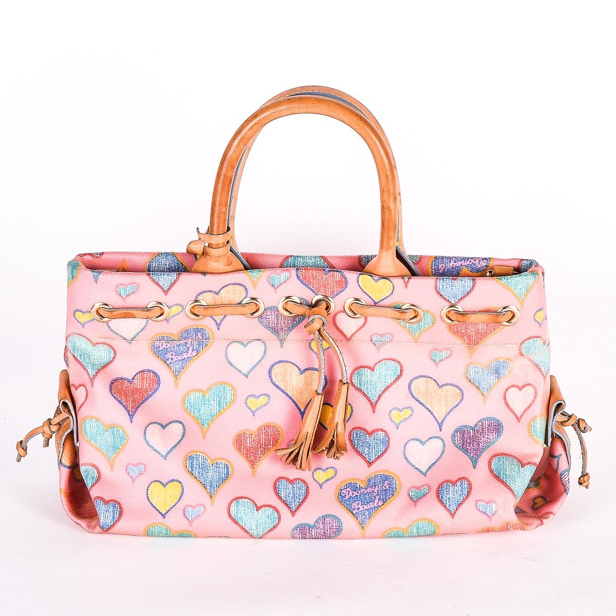 Dooney & Bourke Heart Tassel Bag