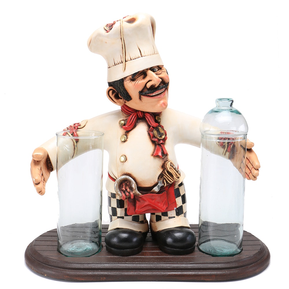 Italian Chef Kitchen Decor Piece ...