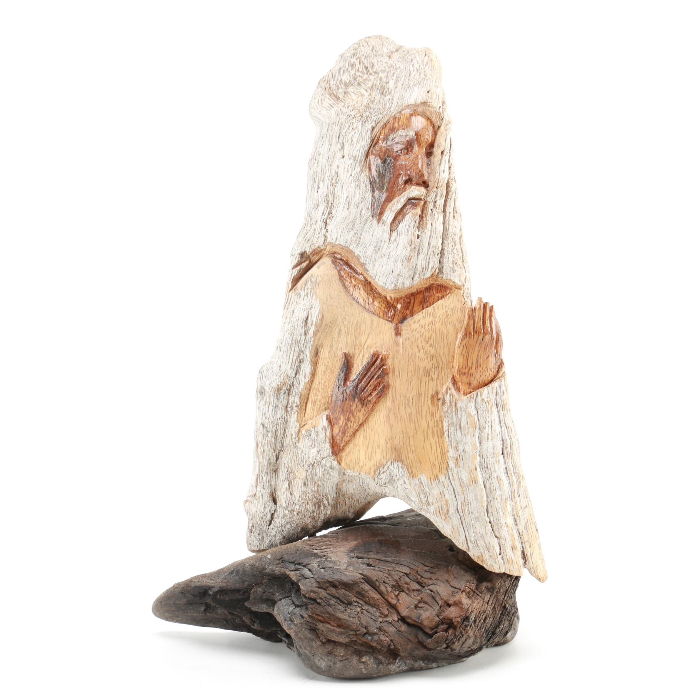 Wooden Carved Figurine