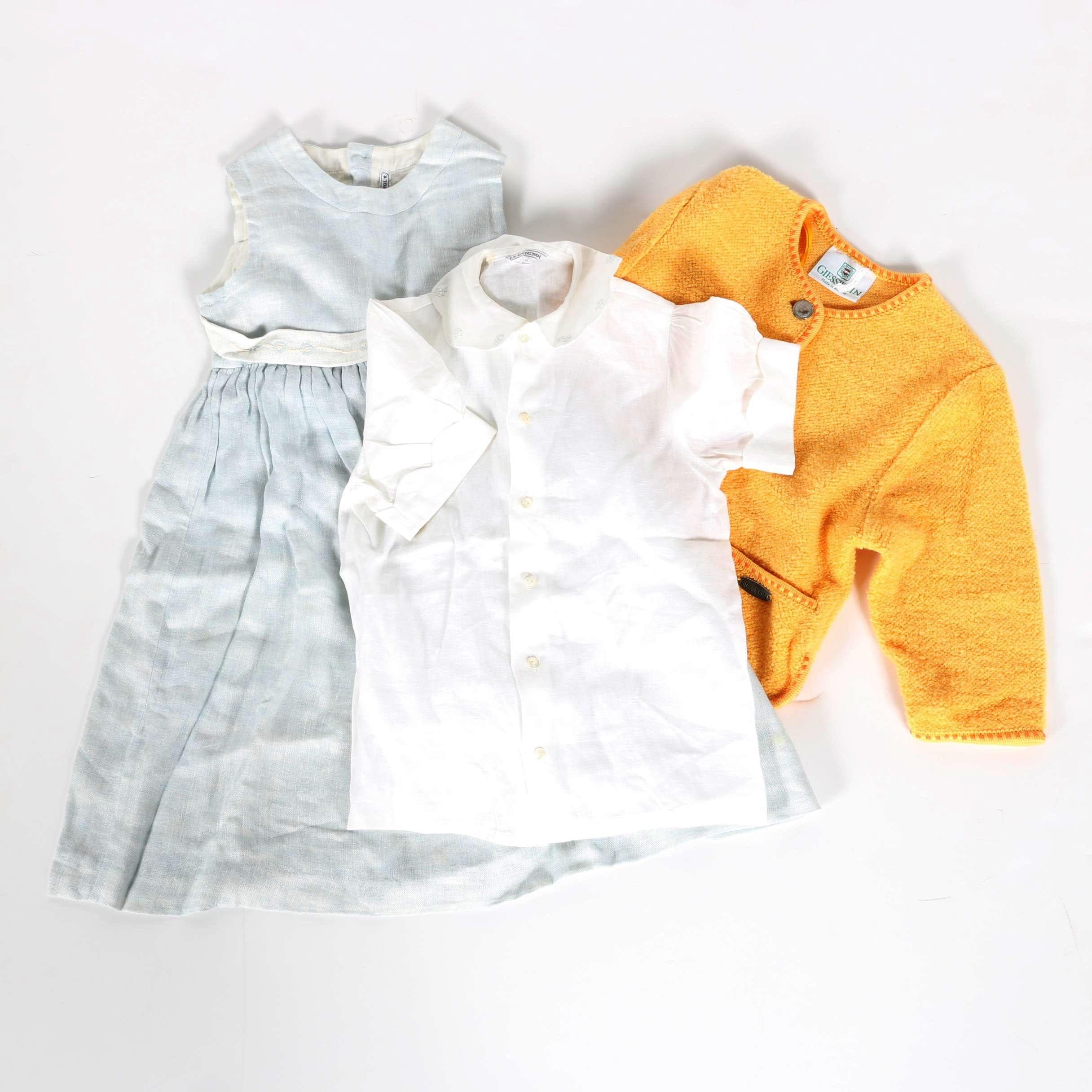 Girl's European Clothes Featuring Le Guignol
