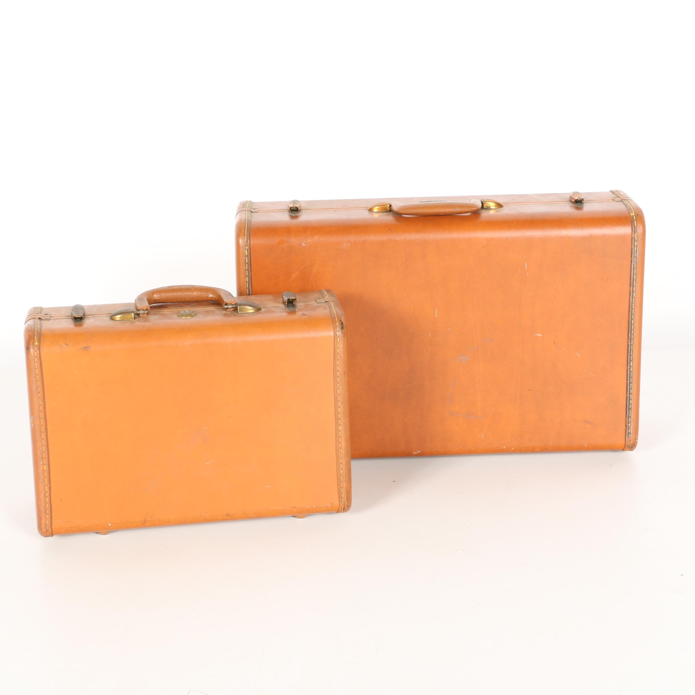 Complementary Samsonite Suitcases