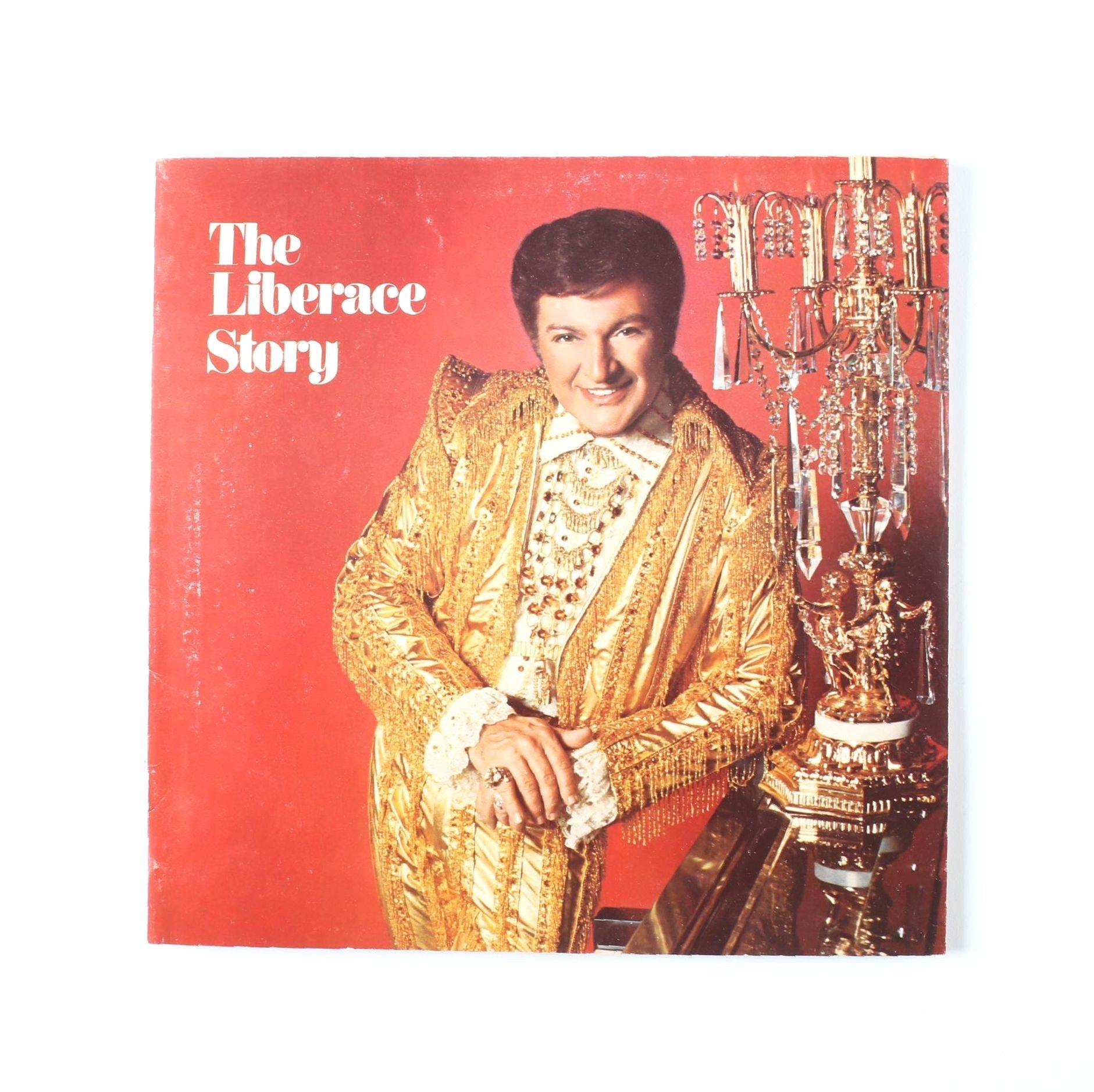 """The Liberace Story"" 1970s Concert Program"