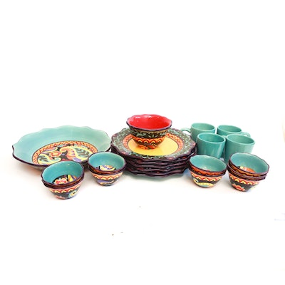 Set of Corsica Merida Tableware