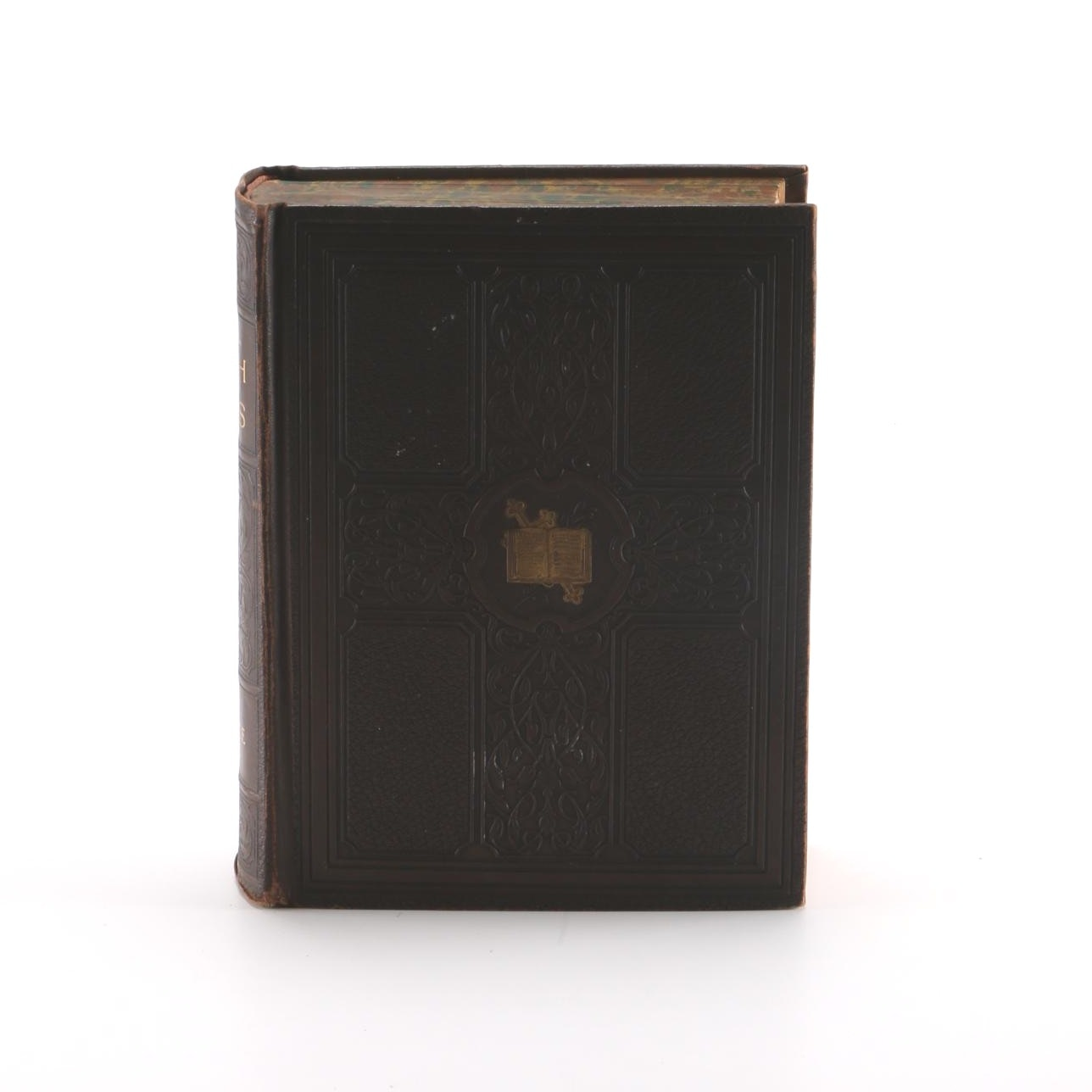 """1927 Leather Bound """"Our Faith and the Facts"""" Compiled by The Reverend C.F. Donovan"""