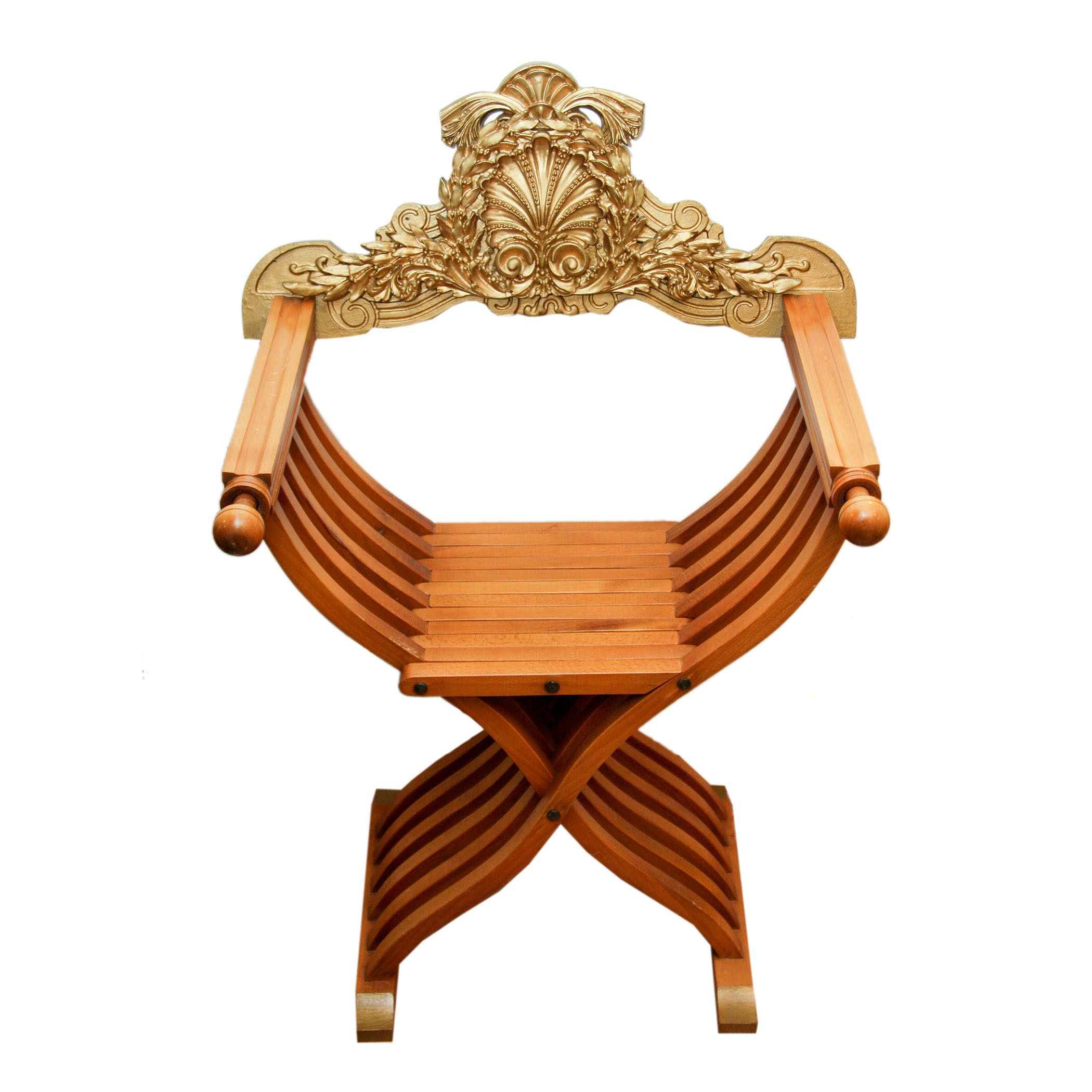 Ancient Egyptian-Style Folding Chair