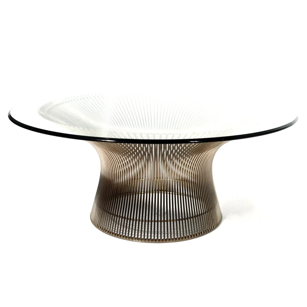 Warren Platner for Knoll International Coffee Table