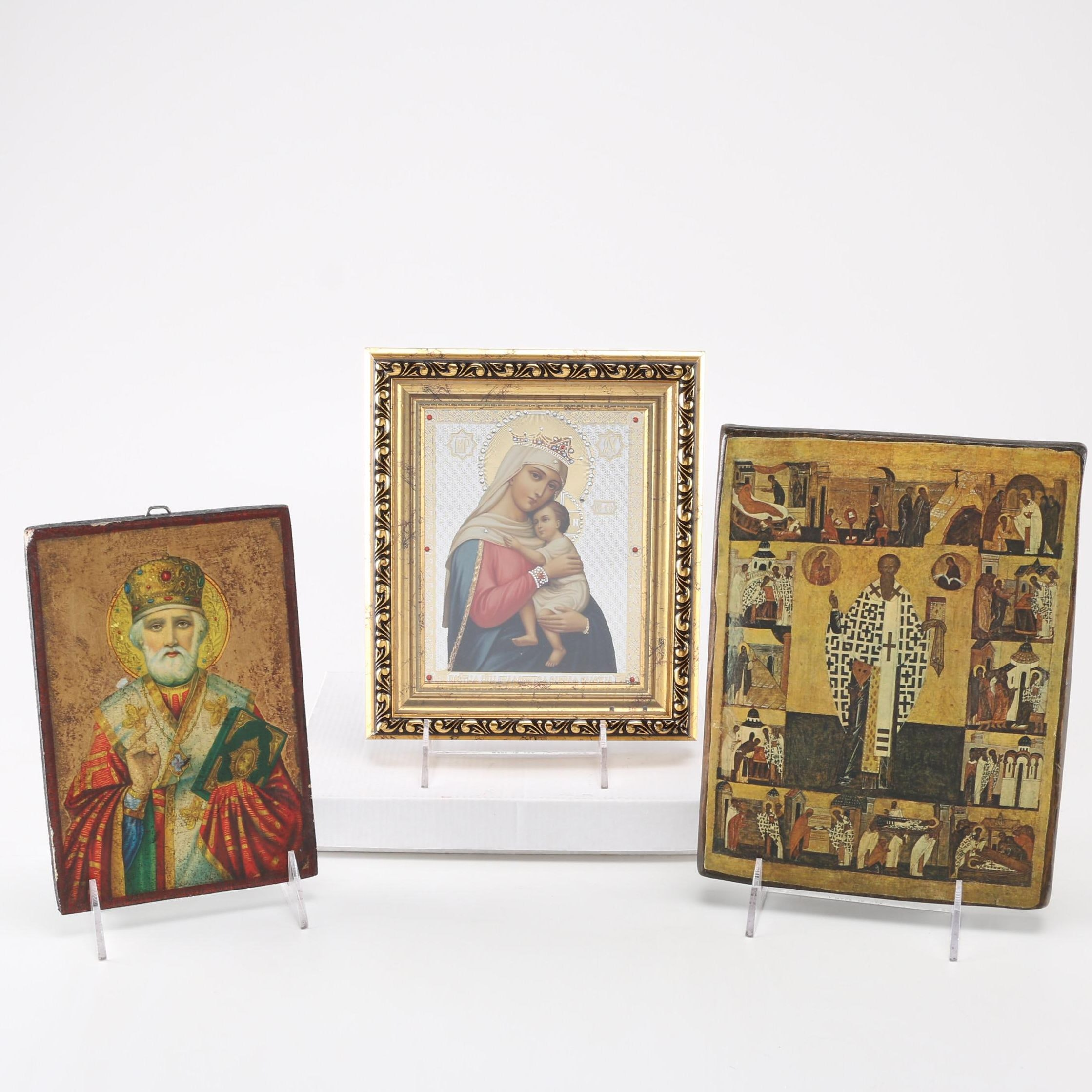 Reproduction Prints After Eastern Outhodox Icons