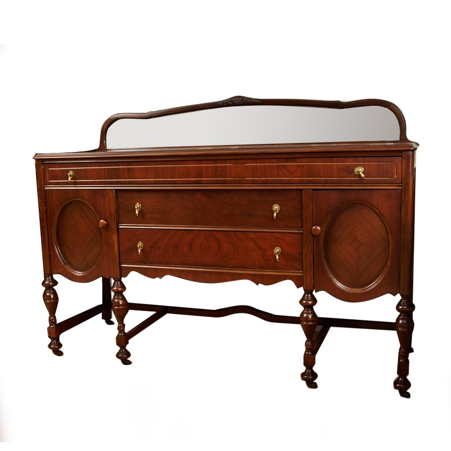Vintage William And Mary Style Sideboard By Klamer Furniture ...