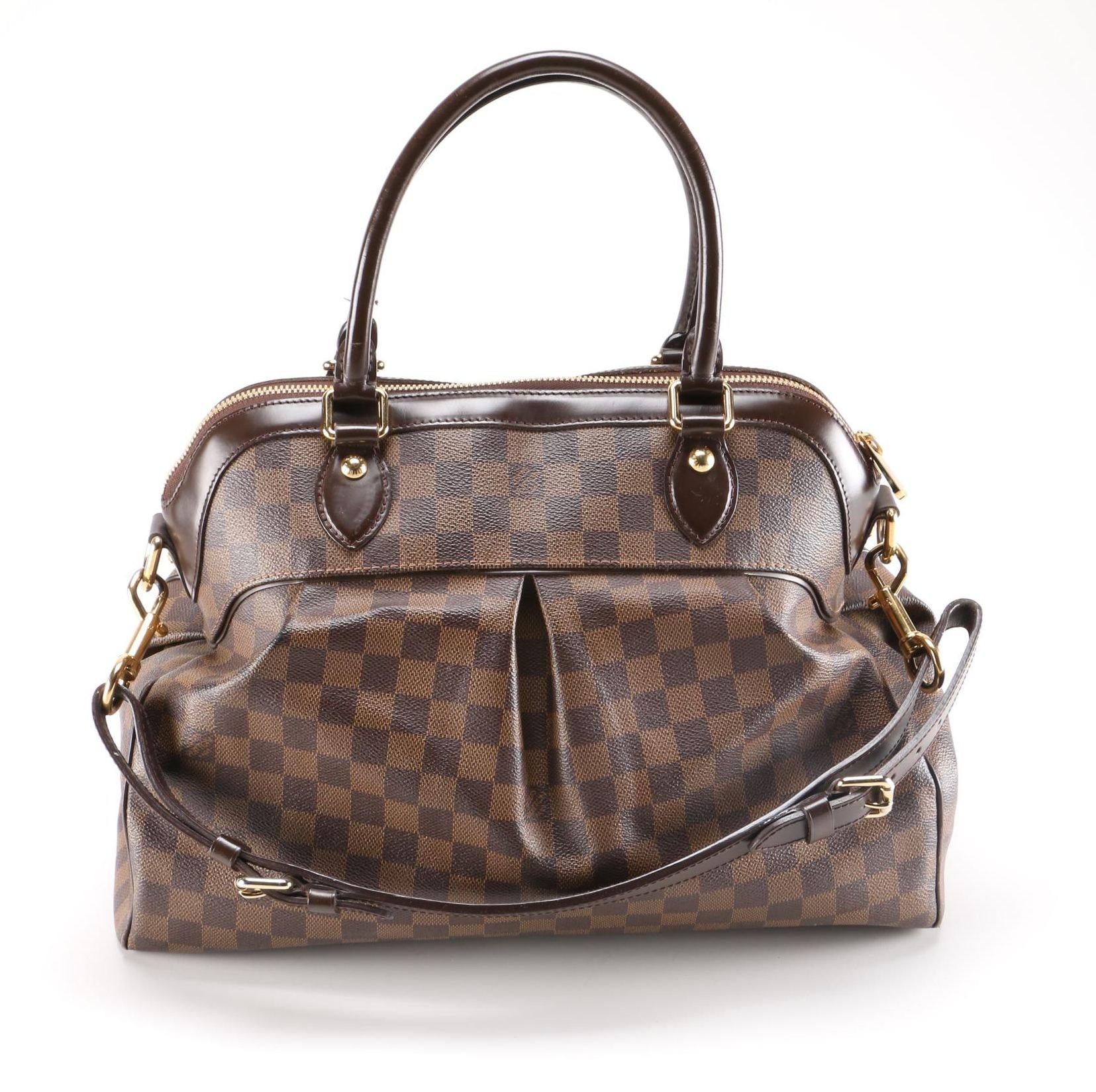 Louis Vuitton Damier Ebene Trevi GM Handbag