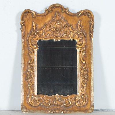 Large Antiqued Leaner Mirror by Ballard Designs EBTH