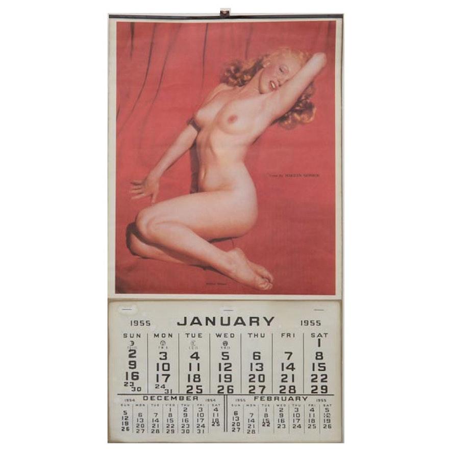 Original Vintage 1955 Marilyn Monroe -6695