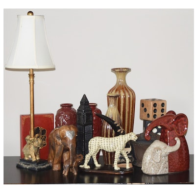 Collection of vintage wooden home decor ebth - Vintage home decorating collection ...