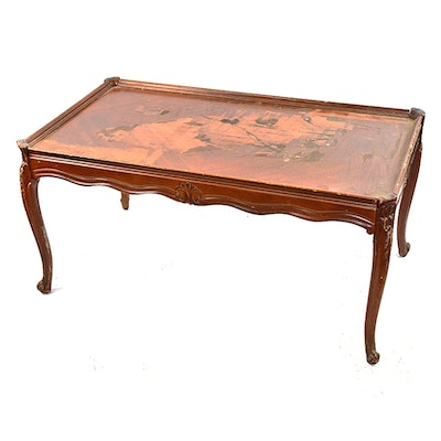Renaissance Revival Style Carved Table Ebth