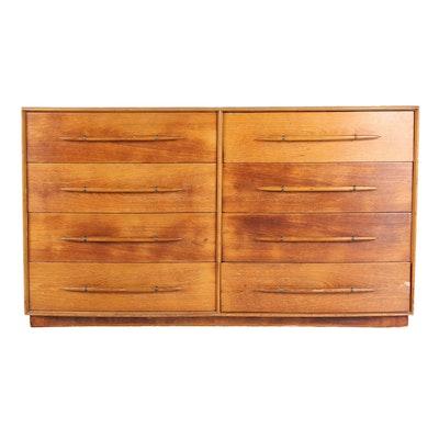 Vintage Widdicomb Eight-Drawer Dresser