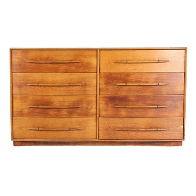 Vintage Widdicomb Eight-Drawer Dresser