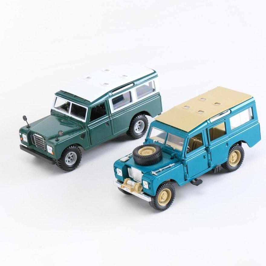 Polistil And Bburago Die-Cast Land Rovers : EBTH
