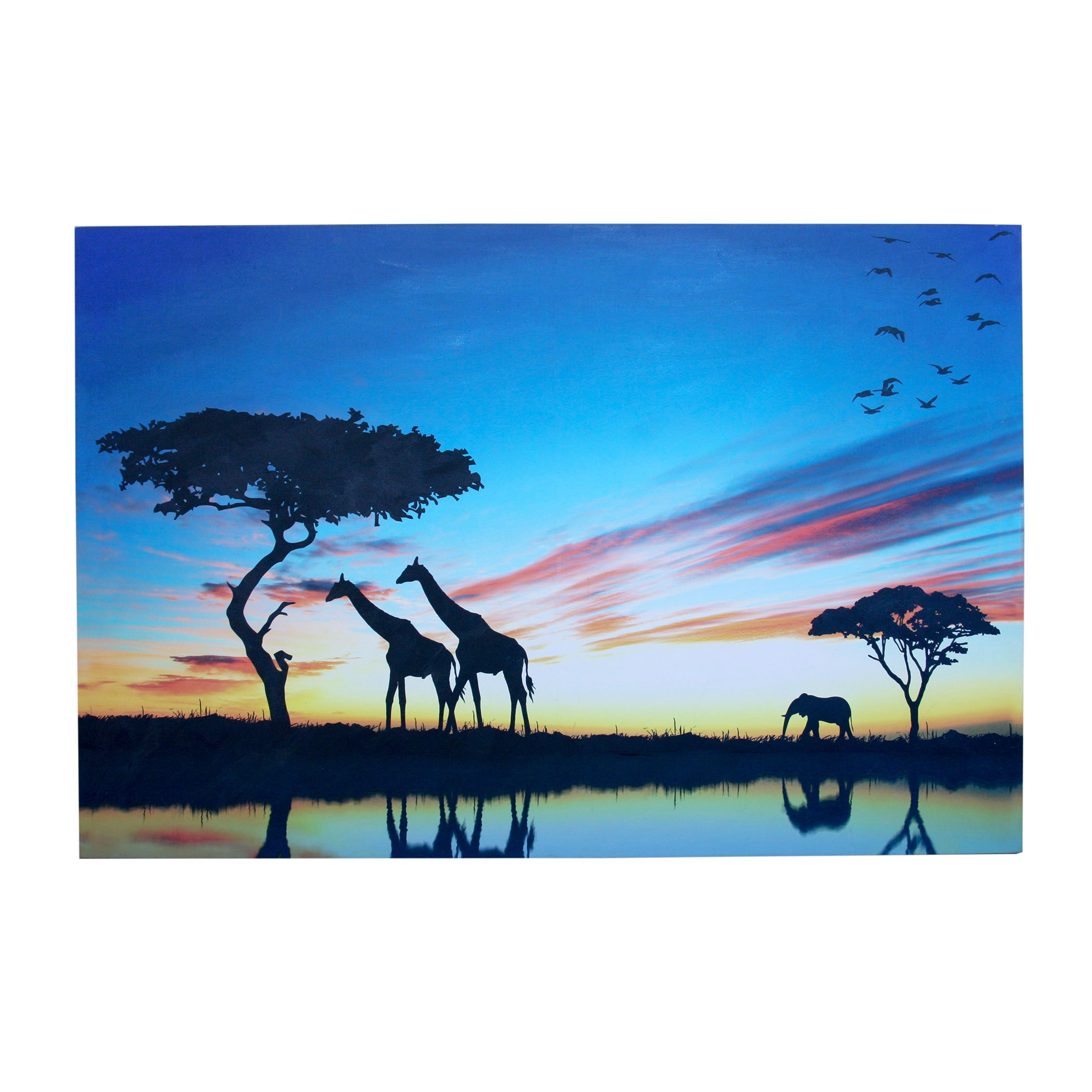 Giclée on Canvas of African Landscape