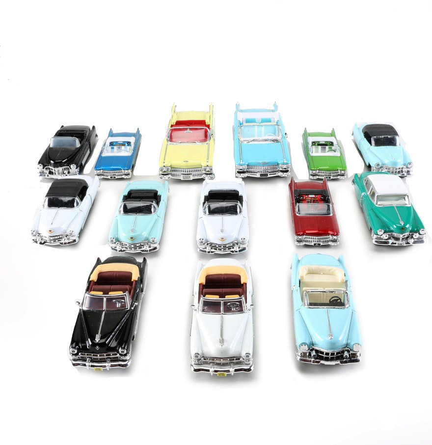 Cadillac Die-Cast Cars