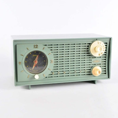 Vintage Mid-Century Admiral Clock Radio